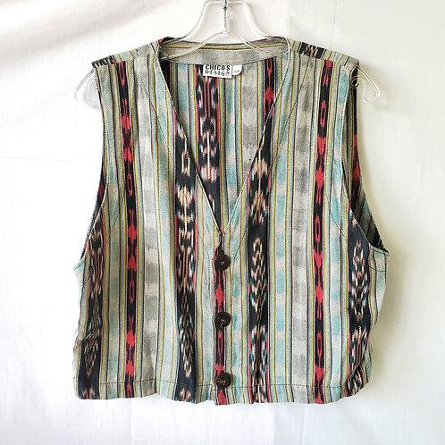 Chico's Handwoven Vest - S