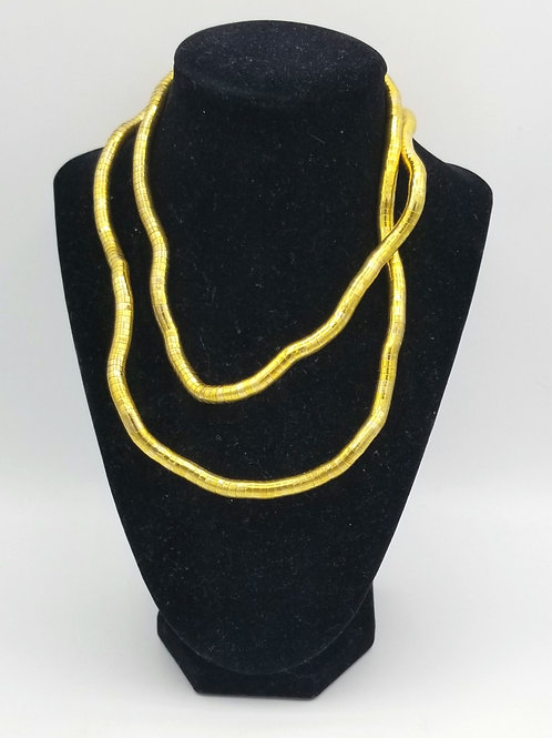 Metal Twist Necklace