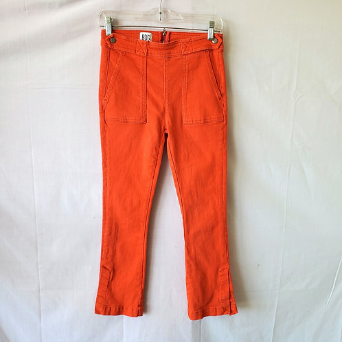 BDG Bright Orange Pants with Pocket - size 24