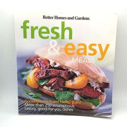 Fresh & Easy Meals Cookbook