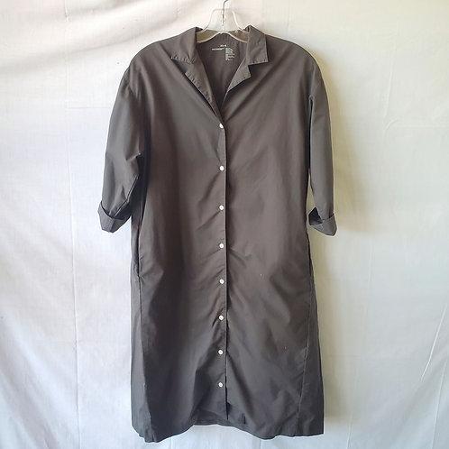 Muji 100% Cotton Loose Fit Shirtdress - S/XS
