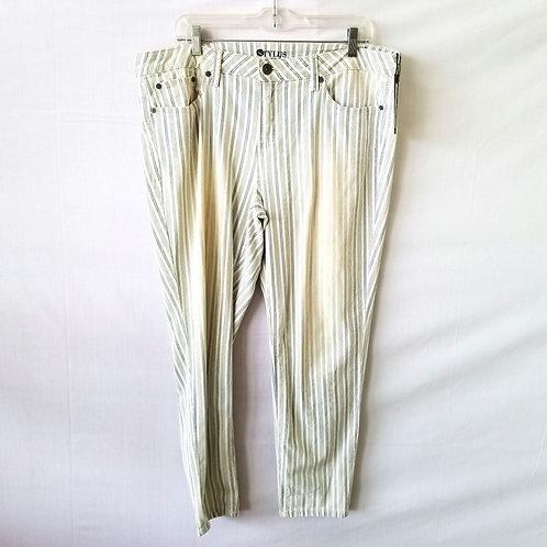 Stylus Engineer Stripe Pants - L - New