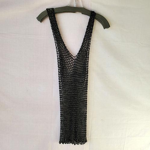 Crochet Beaded Tank - approx S