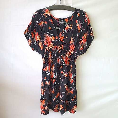 Angie Floral Rayon Dress - S