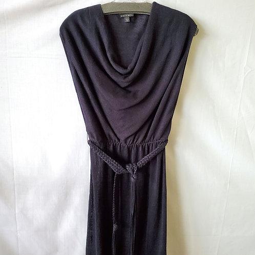 Lafayette 148 Linen Knit Dress with Cowl - Petite
