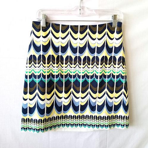 Talbots Pattern Mini Skirt - 2P