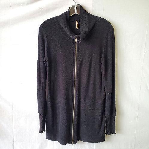 Pete Tunic Zip Up Fleece Sweatshirt - XS