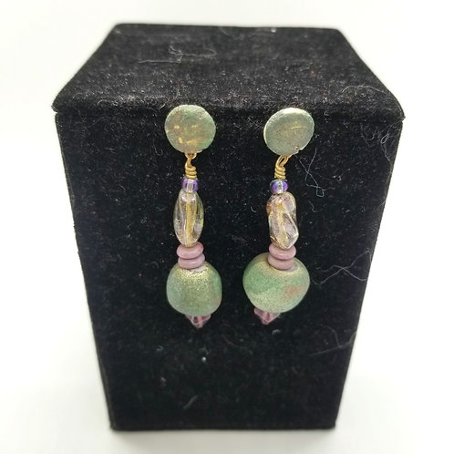 Clay Bead Earrings