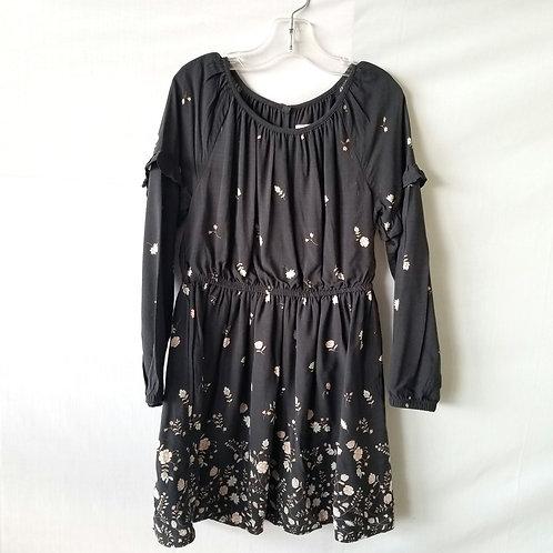 GAP Kid's Longsleeve Dress with Flowers - S