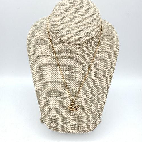 Vintage Avon Whale Necklace