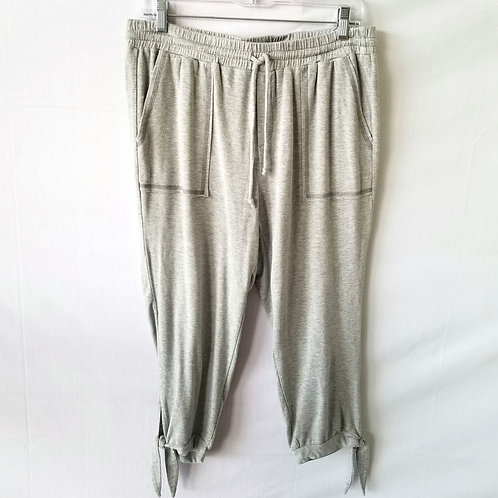 Splendid French Terry Cropped Lounge Pants - XL