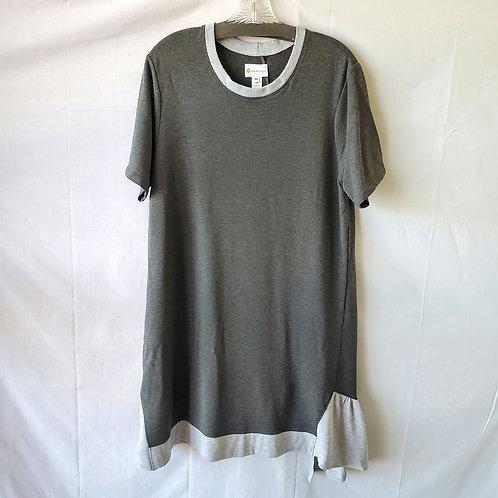 Dakini Jersey Knit Dress with Ruffle - M