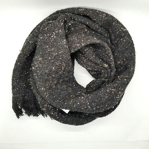 Brown Tweed Scarf