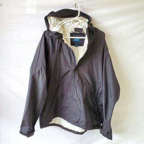 EMS Black Raincoat - L - as is