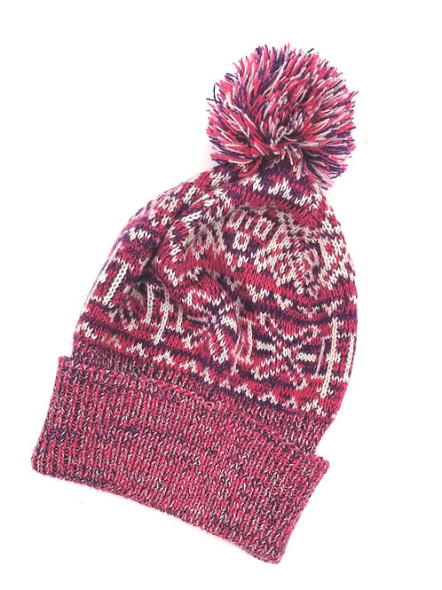 Mixit Winter Hat with Pompom