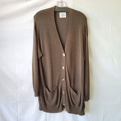Margaret O'Leary Longline Cardigan - approx M/L