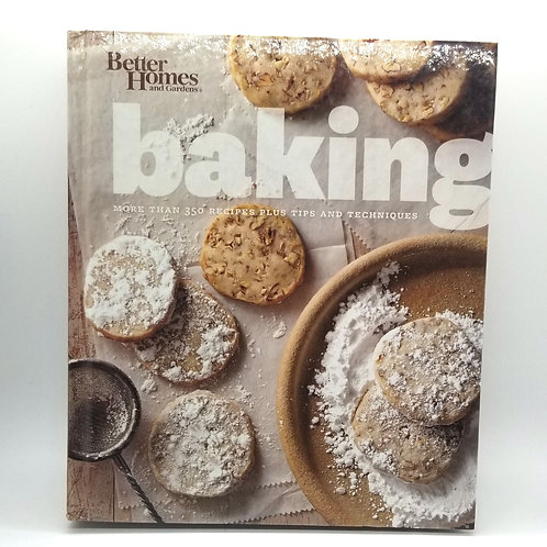Better Homes & Gardens Baking Cookbook
