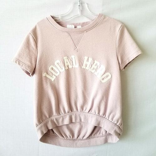 Gap Kid's Hi-Low Local Hero Sweatshirt - size S 6/7