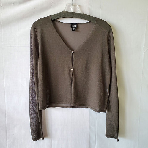 Eileen Fisher Cropped Cardigan - S