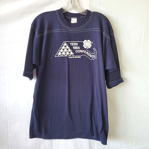 Vintage Sport-T 1984 4-H Teen Conference Tee - L