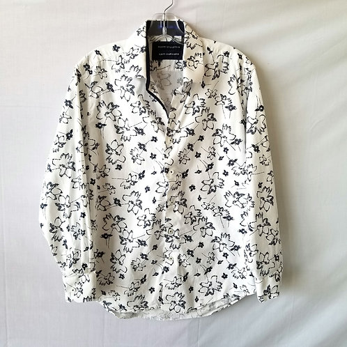 """Report Collection Slim Fit Button Down - size 16"""" 32-36"""
