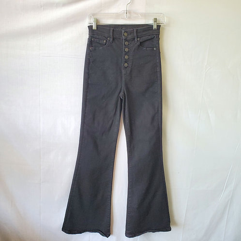 American Eagle Button Fly Flare Jeans - size 0