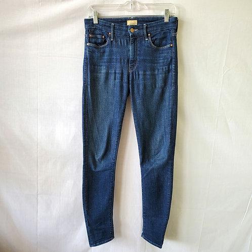 Mother Dark Wash Skinny Jeans - size 27