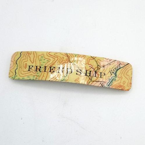 'Friendship' Hair Clip