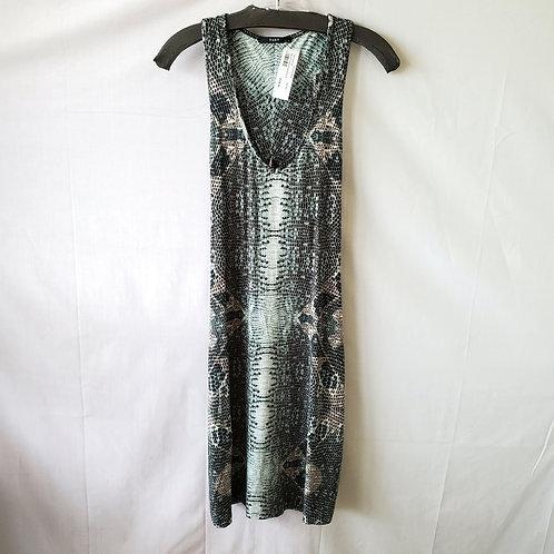 Tart Collection Twist Back Python Print Dress - M - New