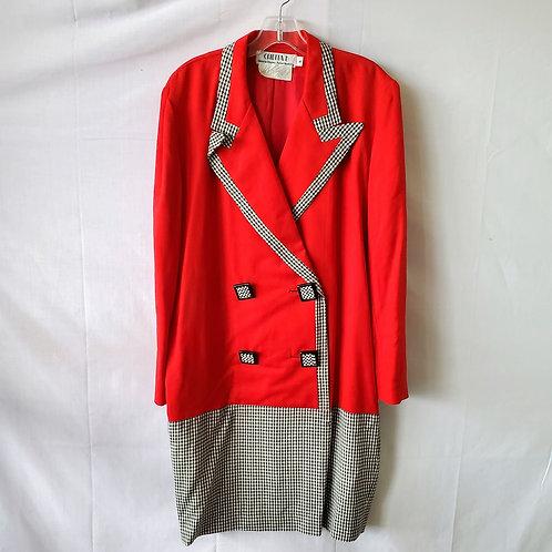 Vintage Chetta B Blazer Shirtdress - size 8