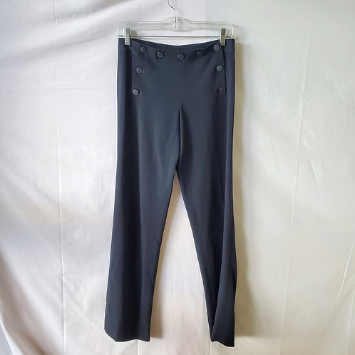 Theory Navy Sailor Style Pants - size 4