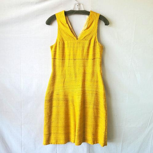 Vintage Goldenrod Dress - approx S