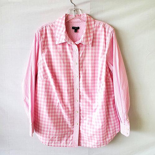 Talbots Cotton Gingham Shirt - X