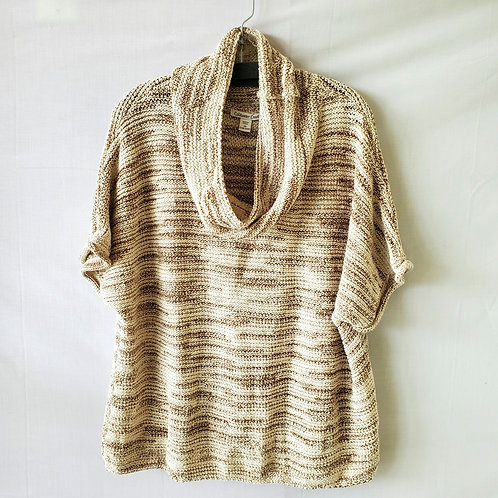 Coldwater Creek Knit Cowl Neck Sweater - 3X