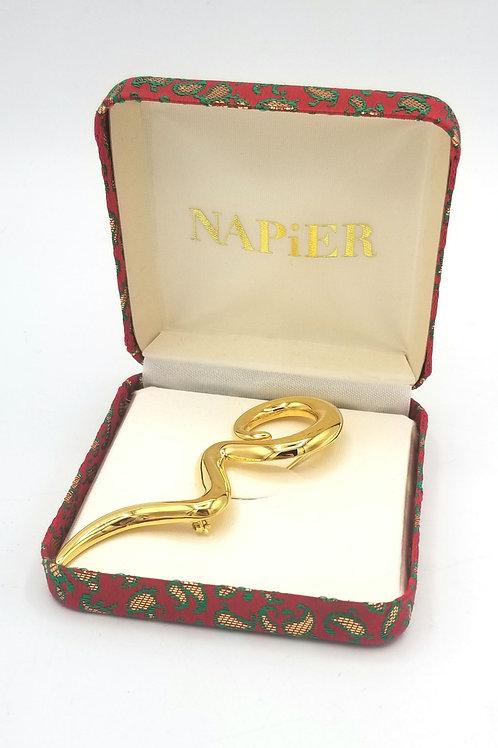 Vintage Napier Swirl Brooch - New