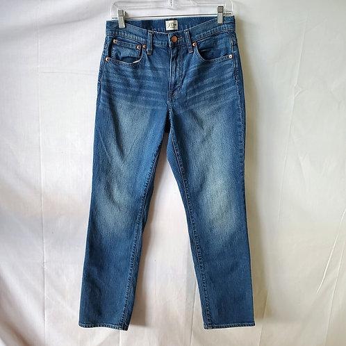J Crew Straight Leg Jeans - size 27 T
