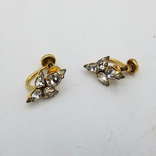 Vintage 12K Gold Fill Screwback Earrings