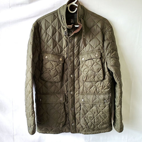 H&M Quilted Olive Jacket - size 38R