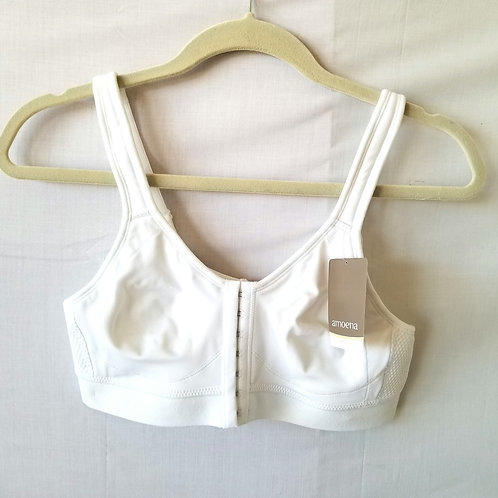 Amoena Recovery Care White Bra - size 36A - New