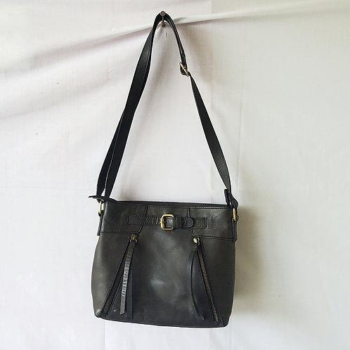 Børn Leather Purse with Zippers