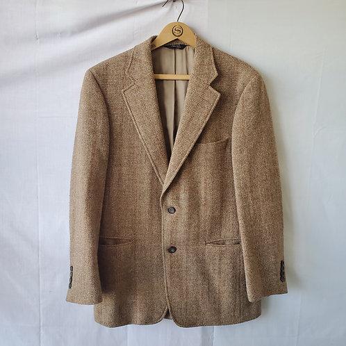 Vintage Harris Tweed Wool Blazer - size 40 - as is