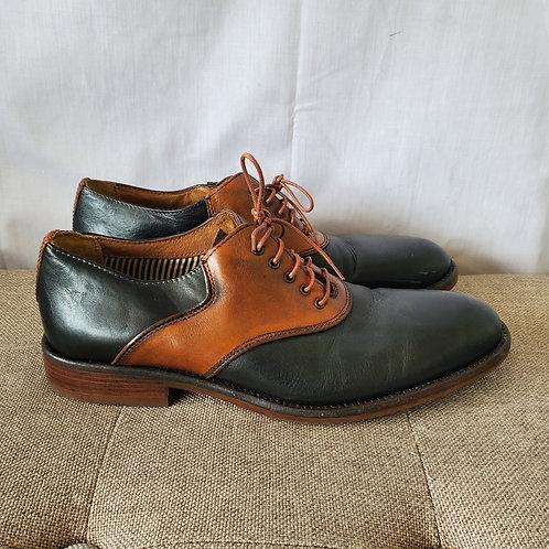 J & M 1850 Leather Saddle Shoes - size 10M
