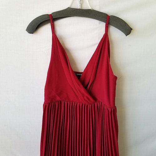 Shein Pleated Maxi Dress - L