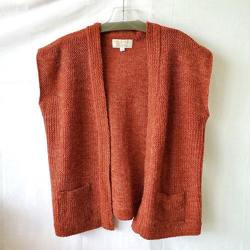 Vintage Acrylic & Nylon Knit Vest - S