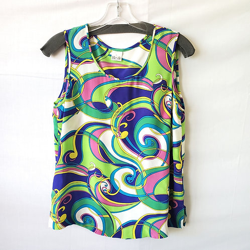 Bleyle Pattern Silk Top - size 6