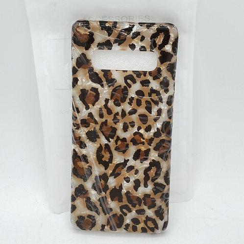 Samsung Galaxy S10+ Leopard Case - New