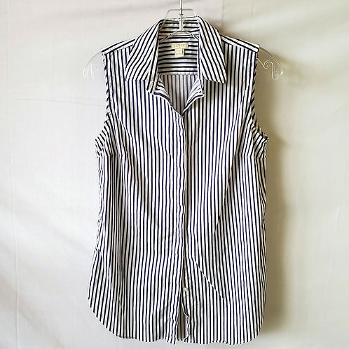 J Crew Factory Sleeveless Button Up - size 2