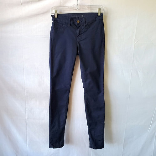 J Brand Navy Skinny Leg Jeans - size 25