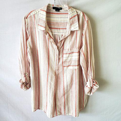 Sanctuary Cotton & Linen Relaxed Top - L