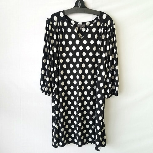 Luxology Polka Dot Dress - XL